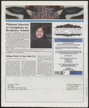 Primary view of object titled 'The Tiger (San Antonio, Tex.), Vol. 63, No. 4, Ed. 1 Tuesday, December 2, 2008'.