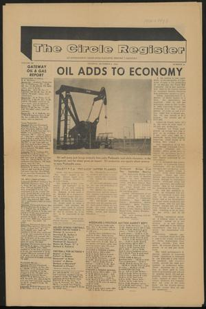 The Circle Register (Follett, Tex.), Vol. 3, No. 26, Ed. 1 Tuesday, October 6, 1964