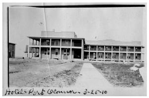 Primary view of object titled 'Hotel [in] Port O'Connor'.
