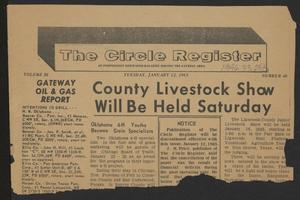 The Circle Register (Follett, Tex.), Vol. 3, No. 40, Ed. 1 Tuesday, January 12, 1965