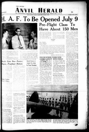 Primary view of The Hondo Anvil Herald (Hondo, Tex.), Vol. 66, No. 49, Ed. 1 Friday, June 1, 1951