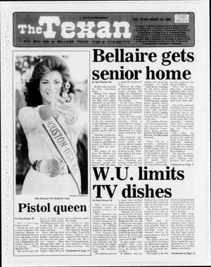 The Texan (Bellaire, Tex.), Vol. 32, No. 04, Ed. 1 Wednesday, September 25, 1985