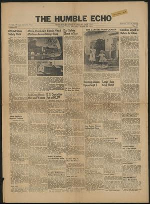 The Humble Echo (Humble, Tex.), Vol. 12, No. 34, Ed. 1 Thursday, August 20, 1953