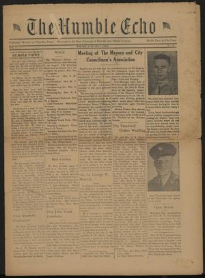 The Humble Echo (Humble, Tex.), Vol. 2, No. 31, Ed. 1 Friday, January 14, 1944