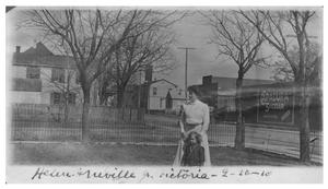 Primary view of object titled 'Helen and Neville Jr.'.