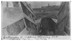 Primary view of object titled 'Entrance to Welder's dipping vat'.
