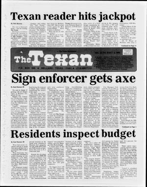 Primary view of object titled 'The Texan (Bellaire, Tex.), Vol. 32, No. 05, Ed. 1 Wednesday, October 2, 1985'.