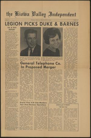 The Kiowa Valley Independent (Darrouzett, Tex.), Vol. 2, No. 24, Ed. 1 Thursday, March 12, 1964