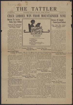 The Tattler (Mineral Wells, Tex.), Vol. 13, No. 15, Ed. 1 Wednesday, April 28, 1926