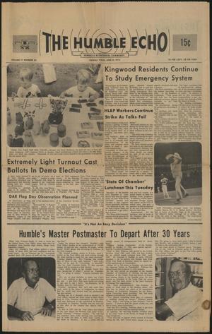 The Humble Echo (Humble, Tex.), Vol. 37, No. 24, Ed. 1 Thursday, June 10, 1976