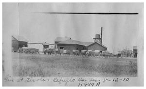 Primary view of object titled 'Gin at Tivoli [in] Refugio County, Texas'.