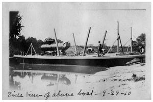 Side view of [Steamboat J. J. Welder]