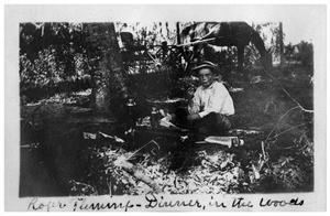 Roger Fleming - dinner in the woods
