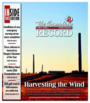 Primary view of object titled 'The Canadian Record (Canadian, Tex.), Vol. 124, No. 11, Ed. 1 Thursday, March 13, 2014'.