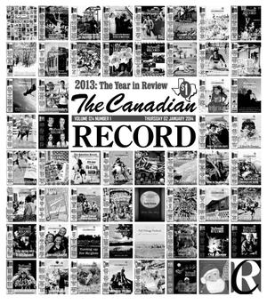 Primary view of object titled 'The Canadian Record (Canadian, Tex.), Vol. 124, No. 1, Ed. 1 Thursday, January 2, 2014'.