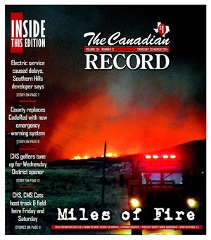 Primary view of object titled 'The Canadian Record (Canadian, Tex.), Vol. 124, No. 12, Ed. 1 Thursday, March 20, 2014'.