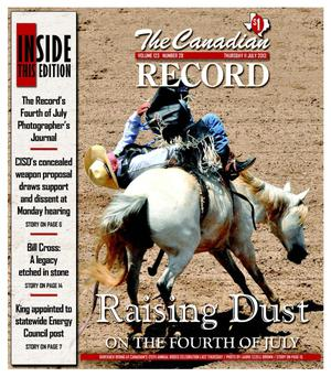 Primary view of object titled 'The Canadian Record (Canadian, Tex.), Vol. 123, No. 28, Ed. 1 Thursday, July 11, 2013'.