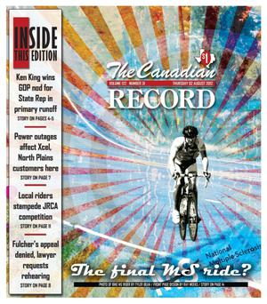Primary view of object titled 'The Canadian Record (Canadian, Tex.), Vol. 122, No. 31, Ed. 1 Thursday, August 2, 2012'.