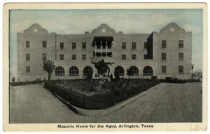Masonic Home for the Aged, 1921