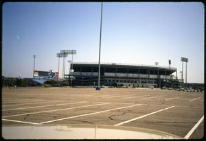 Primary view of object titled 'Arlington Stadium'.