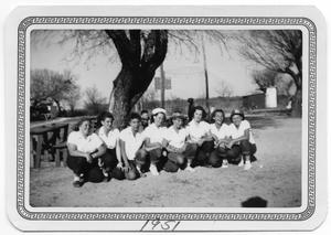 Primary view of object titled '[Lower Valley School Volleyball Team]'.