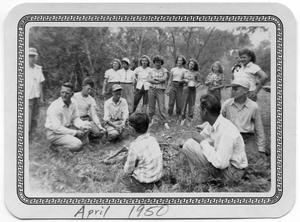 Primary view of object titled '[End of Year School Picnic]'.