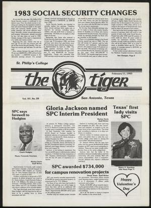 The Tiger (San Antonio, Tex.), Vol. 15, No. 20, Ed. 1 Friday, February 11, 1983