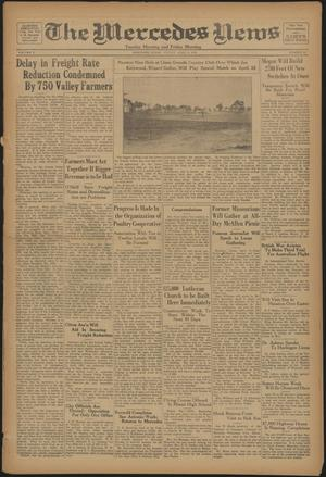 Primary view of object titled 'The Mercedes News (Mercedes, Tex.), Vol. 5, No. 39, Ed. 1 Friday, April 6, 1928'.