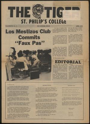 The Tiger (San Antonio, Tex.), Vol. 9, No. 11, Ed. 1, April 1979
