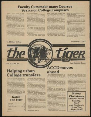 Primary view of object titled 'The Tiger (San Antonio, Tex.), Vol. 20, No. 26, Ed. 1 Friday, December 2, 1983'.