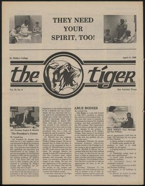 Primary view of object titled 'The Tiger (San Antonio, Tex.), Vol. 24, No. 6, Ed. 1 Friday, April 11, 1986'.