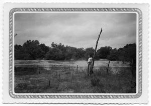 Primary view of object titled '[Maxine Watts at Cibolo Creek]'.