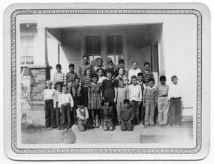 Primary view of object titled '[Lower Valley School Students]'.