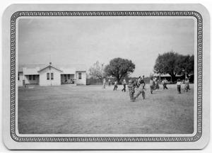 Primary view of object titled '[Students in School Yard]'.
