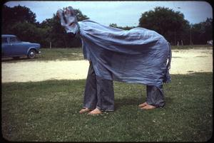 Primary view of object titled '[Gray Mare Costume]'.