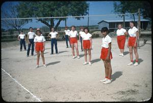 Primary view of object titled '[Volleyball Game]'.