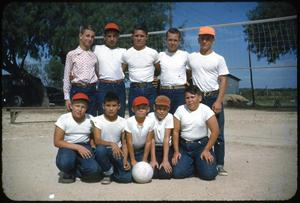Primary view of object titled '[Boys Volleyball Team]'.