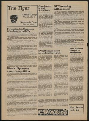 The Tiger (San Antonio, Tex.), Vol. 12, No. 9, Ed. 1 Thursday, February 11, 1982