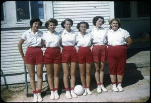 Primary view of object titled '[Girls' Volleyball Team]'.