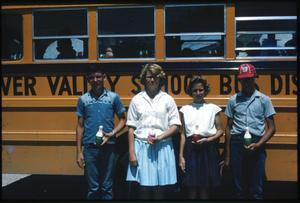 Primary view of object titled '[Students by Bus]'.