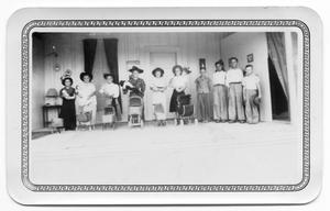 Primary view of object titled '[End Of School Year Play]'.