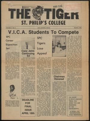 The Tiger (San Antonio, Tex.), Ed. 1, March 1980