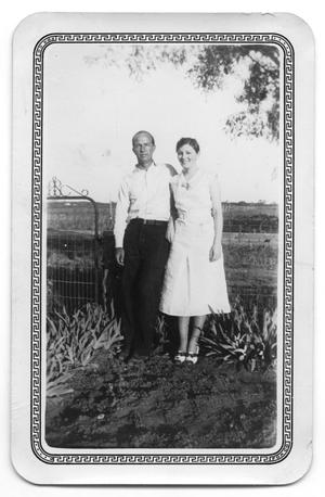 Primary view of object titled '[Mr. and Mrs. Paul Fritz]'.