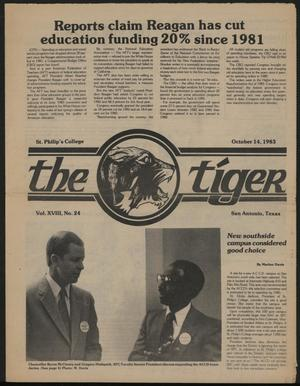 The Tiger (San Antonio, Tex.), Vol. 18, No. 24, Ed. 1 Friday, October 14, 1983