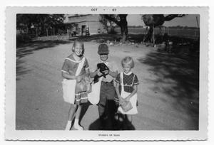 Primary view of object titled '[Three Children]'.