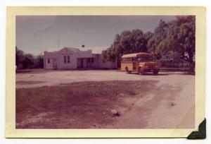 Primary view of object titled '[Lower Valley School Bus]'.