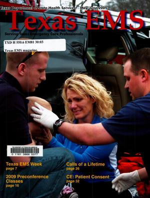 Primary view of object titled 'Texas EMS Magazine, Volume 30, Number 3, May/June 2009'.