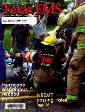 Primary view of object titled 'Texas EMS Magazine, Volume 27, Number 4, July/August 2006'.