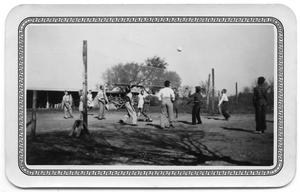 Primary view of object titled '[Volleyball At Recess]'.