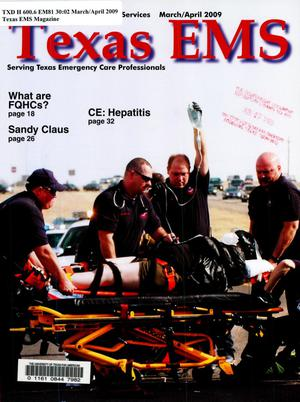 Primary view of object titled 'Texas EMS Magazine, Volume 30, Number 2, March/April 2009'.
